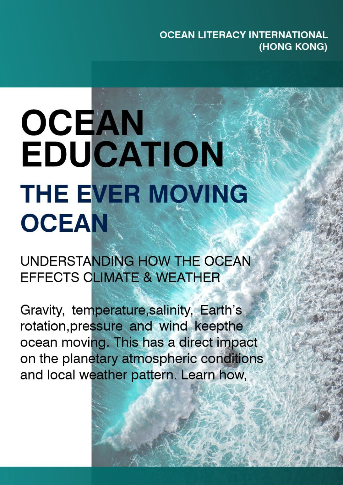 the ever moving ocean